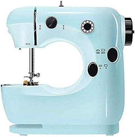 HWZQHJY Máquina de Coser eléctrica Portable de la máquina cose, Costura de la Herramienta rápida Máquina de Coser del hogar: Amazon.es: Hogar