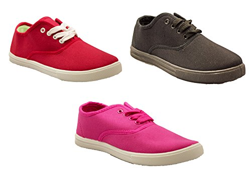 kids-tie-up-slip-on-canvas-sneakers-with-laces-for-children-girls-and-boys-kids-toddlers-3-kids-pink