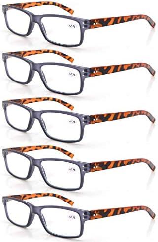 MODFANS Un Paquete de 5 Gafas de Lectura