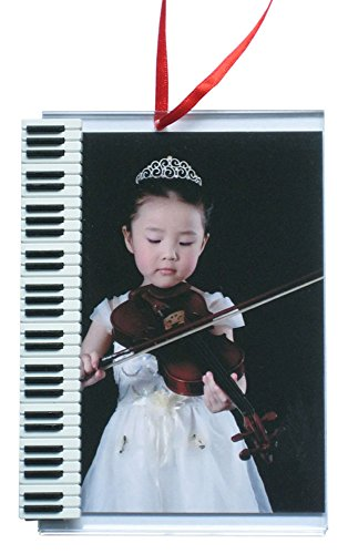Picture Frame Ornament with Keyboard by Music Treasures Co.