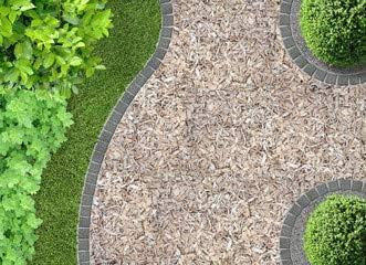 Vía con Corteza. En el jardín (76981044), Póster, 100 x 70 cm: Amazon.es: Jardín