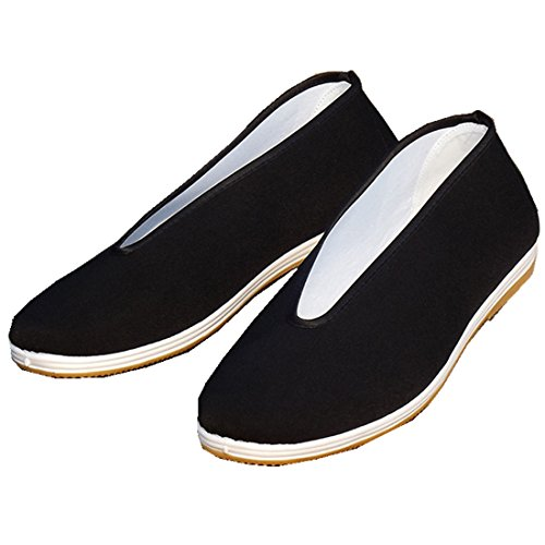 Shanghai Story Traditional Chinese Beijing Round Closure Kungfu Shoes 39