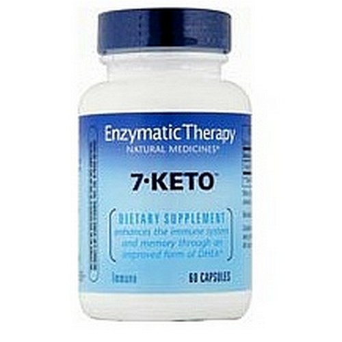 Enzymatic Therapy 7-Keto, DHEA, métabolite capsules 60