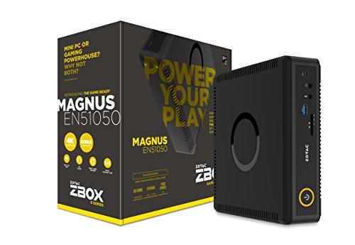 ZOTAC MAGNUS EN51050 Gaming Mini PC Intel Kaby Lake Core i5 NVIDIA GeForce GTX 1050 4K Display Barebone (Nvidia Geforce Gtx 260)