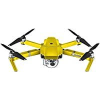 DJI Mavic Pro Seamless Coverage Wrap Protective Skin 3M Car Film Stickers RC Quadcopter Drone Satin Bitter Yellow