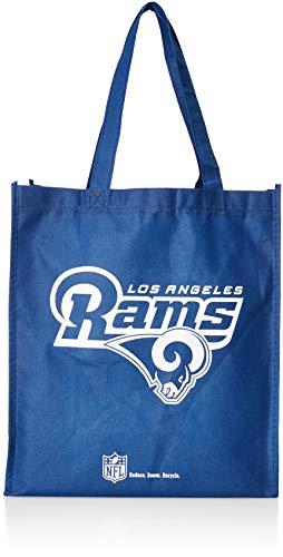 (Los Angeles Rams Printed Non-Woven Polypropylene Reusable Grocery Tote Bag)