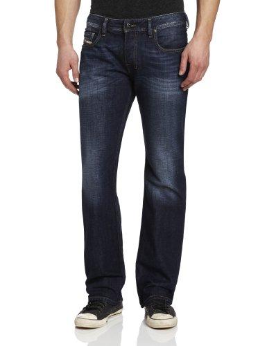 - Diesel Men's Zatiny Slim Micro Bootcut Leg Jean 0074W, Denim, 30x32