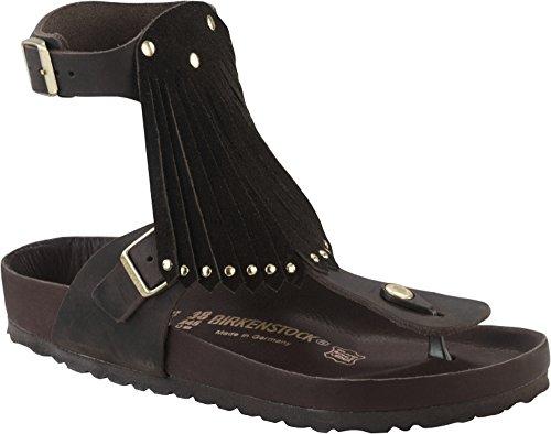 Birkenstock - Sandalias de Piel para mujer marrón