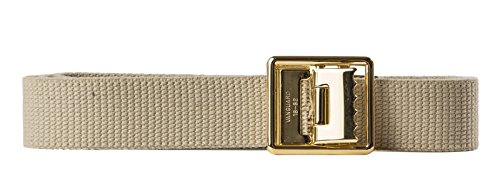 USMC Khaki Belt With Buckle...