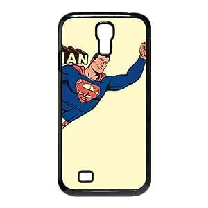 Samsung Galaxy S4 9500 Cell Phone Case Black Superman Vintage Yellow VIU982653