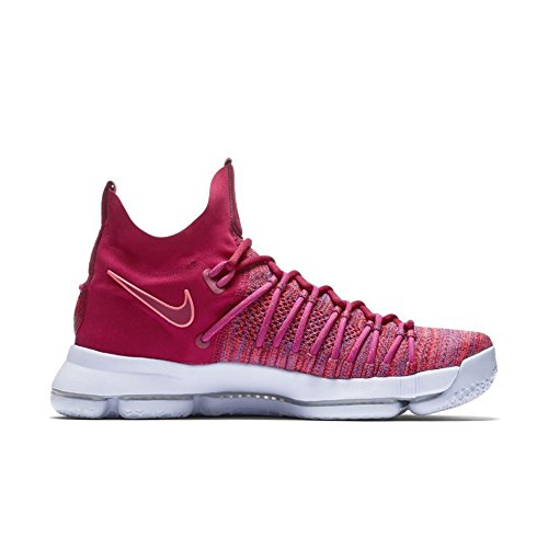 932cefccce4c Nike Mens Zoom KD 9 Basketball Shoe 10.5 Men US University Red Palest Purple