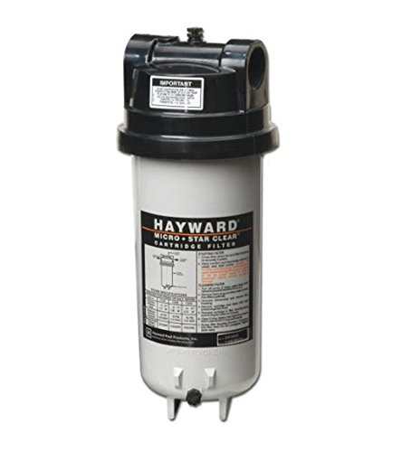 Microstar Cartridge Filter Clear (Hayward C225 StarClear Micro Cartridge Pool Filter, 25 Square Foot)