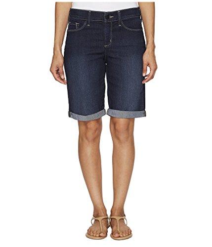マルクス主義者北極圏梨[エヌワイディジェイ] NYDJ Petite レディース Petite Briella Roll Cuff Shorts in Hollywood Wash パンツ [並行輸入品]