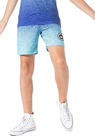 hype Speckle Fade Kids Shorts Mint//Blue