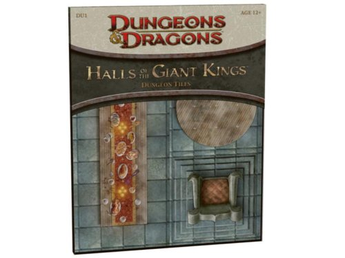 Bear Tile (Halls of the Giant Kings: DU1 - Dungeon Tiles (D&D Accessory))