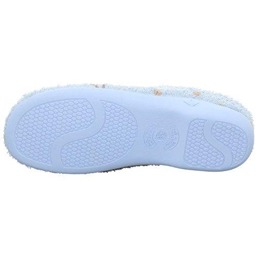Schuhdiscount Damen Haussschuhe Blau
