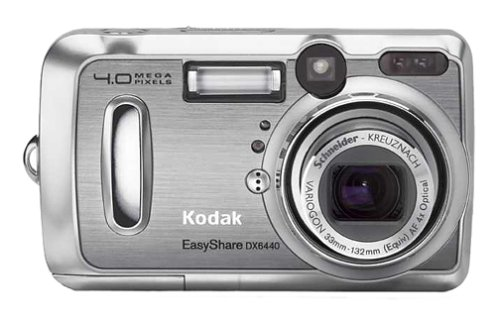 - Kodak EasyShare DX6440 4MP Digital Camera w/ 4x Optical Zoom and Dock