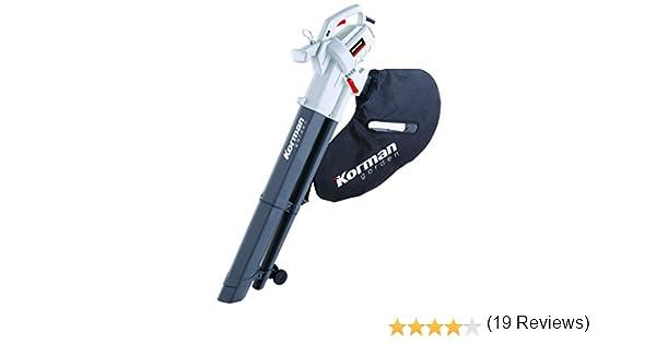Korman 600400 Aspirador soplador (2400 W) Blanco y gris ...
