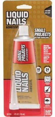 (Liquid Nails LN700 VOC 4 Oz Small Projects & Repairs)