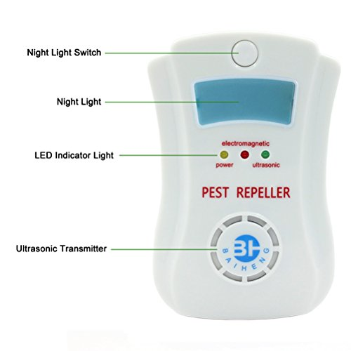 Set-of-4-Ultrasonic-Pest-Control-for-Rodents-Mice-Rats-Insects-Roaches-Spiders-Flies-Ants-Bugs-Pest-Repeller-Equipment-Uses-the-Latest-Ultrasonic-Technology-with-Night-Light