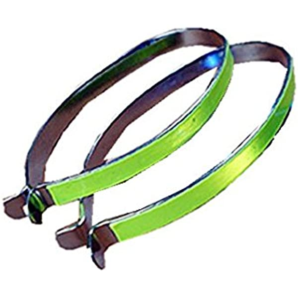 1PC Bicycle Cycling Reflective Ankle Leg Bind Trousers Pant Band Clips Straps