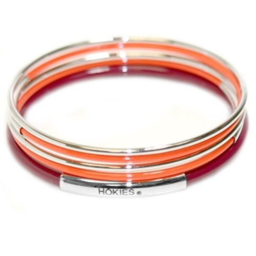 Rosemarie Collections Femme université Virginia Tech Hokies Lot de 5couches de bracelet