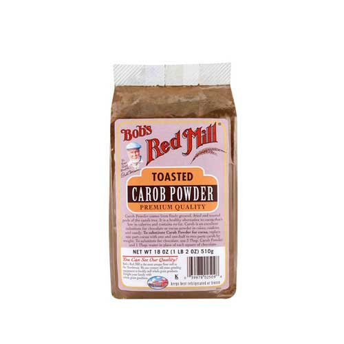 Bobs Red Mill Toasted Carob Powder, 18 Ounce - 4 per case.