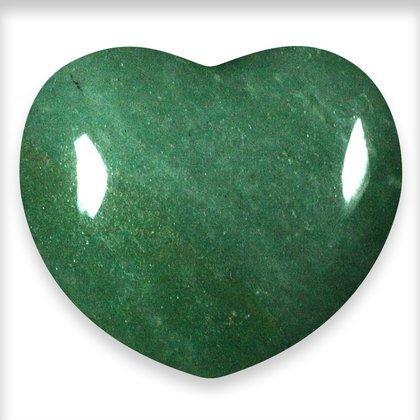 Green Aventurine Crystal Heart ~45mm Green Aventurine Crystal