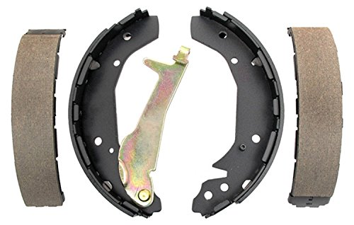 ACDelco 17800B Professional Bonded Rear Drum Brake Shoe Set