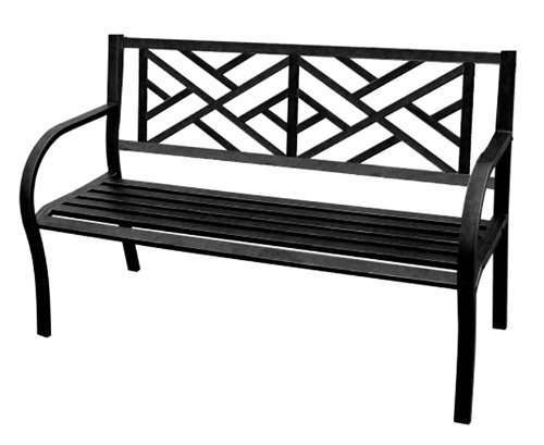 Beautiful Amazon.com : Jordan 3K SMAZE Steel Park Bench With A Maze For The Back,  50 Inch By 21.6 Inch By 34 Inch : Outdoor Benches : Garden U0026 Outdoor