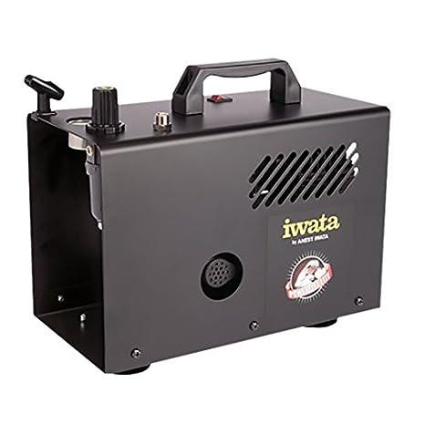 Iwata Studio Series Power Jet Lite profesional aerógrafo compresor: Amazon.es: Juguetes y juegos