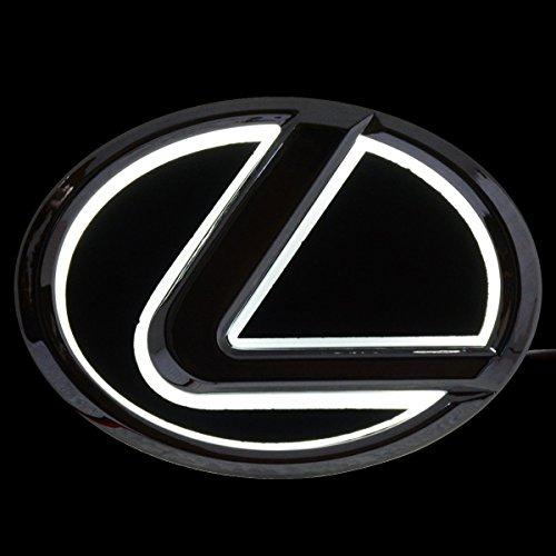 5D Led Tail Light Whith Original Emblem Sticker For Lexus  White1
