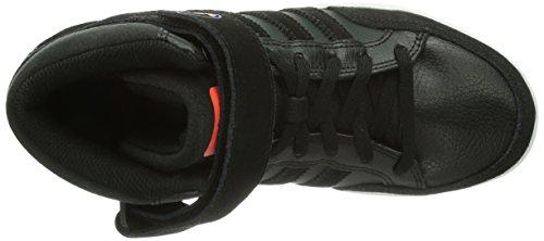 adidas Varial Mid J Q33261 Unisex-Kinder Walkingschuhe Noir (Black 1/Infrared/Bluebird)