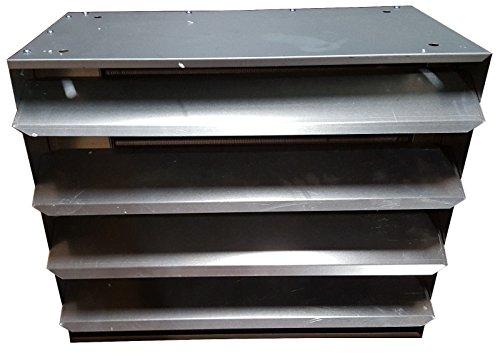 100,000 BTU Hydronic Hot Water Hanging Unit Heater W FITT...