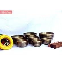 Chakra Healing Tibetan Singing Bowl Sets 7 Sets of Meditation Bowls From Nepal