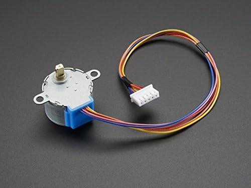 Adafruit Small Reduction Stepper Motor ADA858 5VDC 32-Step 1//16 Gearing