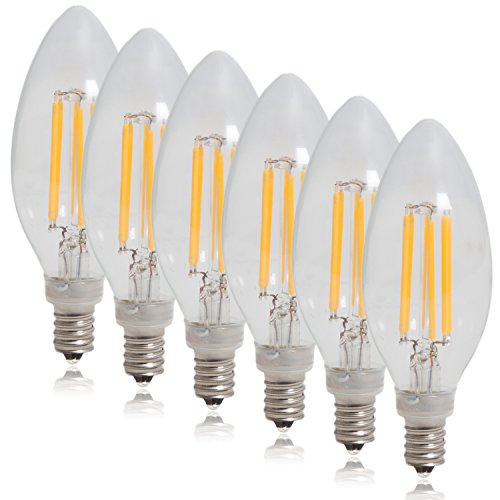 Led Dimmable Torpedo Candelabra Light Bulb in US - 3