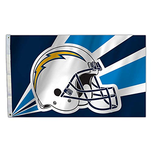 (RongJ- store NFL 3-Foot by 5-Foot Banner Champion Flag (San Diego Chargers) )