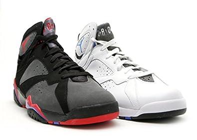 sports shoes c462e d96ee ... black gray red b113a fc61a  promo code for nike air jordan dmp 7 raptors  vs magic mens basketball shoes 371496 991
