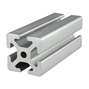80/20 Inc., 40-4040, 40 Series, 40mm x 40mm T-Slotted Extrusion x 1525mm by 80/20 Inc.