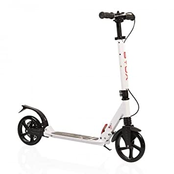 Patinete Scooter byox Plexo MC de 04 con Freno: Amazon.es ...