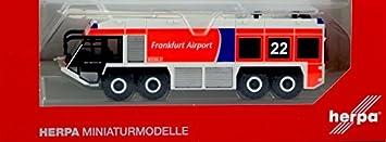 Herpa Ziegler Z8 XXL Flugfeldlöschfahrzeug Feuerwehr Flughafen Frankfurt 092135