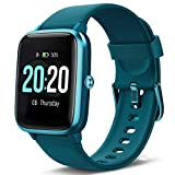 Lintelek Smart Watch, Full Touch Screen Smartwatch, 1.3 Inch Fitness Tracker with HR Monitor, Sleep...
