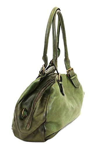 BZNA Bag Linn rosa axelväska Italien designer dam handväska väska läder bag ny