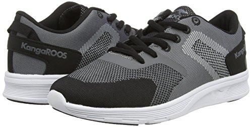 Dk 8018 Black Sneakers Unisex 522 Erwachsene KangaROOS Grey Schwarz OY76dqYx
