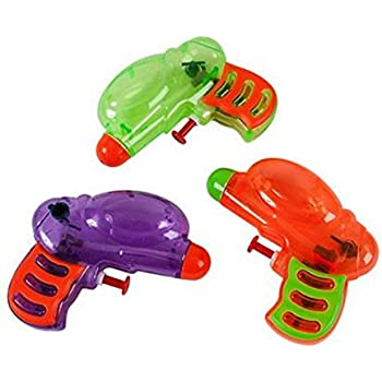 Fun Express Neon Grip Squirt Guns - 12 Pieces