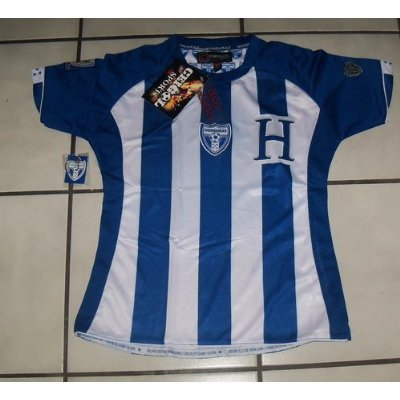 Image Unavailable. Image not available for. Color  2010 SOUTH AFRICA WORLD  CUP OFFICIALLY LICENSED LADIES HONDURAS JERSEY ... f7375325d