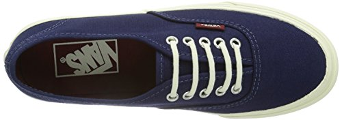 Vans Pop Authentic Slim Patriot Blue/Cordovan Mens 5 O7sDRub7