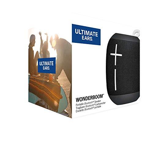 Ultimate Ears Wonderboom Altavoz Portátil Inalámbrico Bluetooth, Sonido Envolvente de 360°, Impermeable, Conexión de 2…