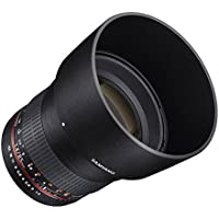 Samyang SY85M-FX 85mm F1.4 Ultra Wide Lens for Fuji X Mount Cameras